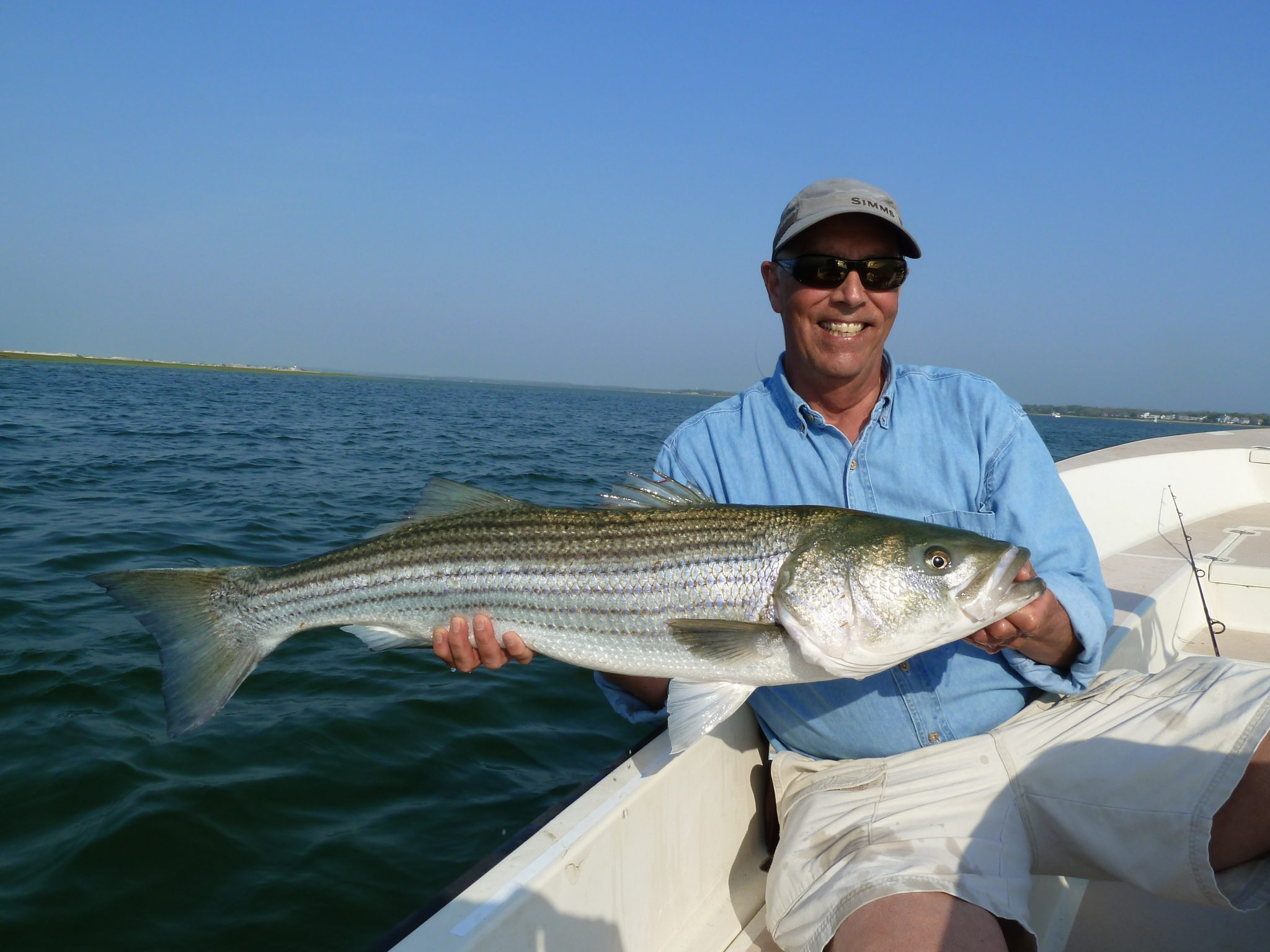 Lodging and a day of fishing for two people with dean for Cape cod fishing