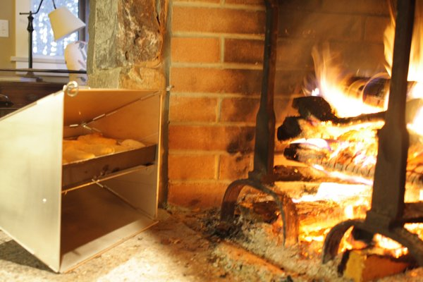 your home already has wood-burning
